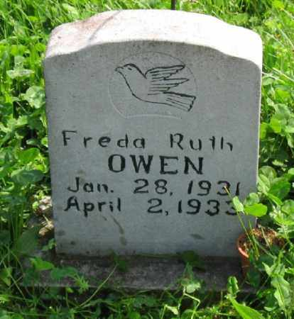 OWEN, FREDA RUTH - Marion County, Arkansas | FREDA RUTH OWEN - Arkansas Gravestone Photos