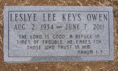 OWEN, LESLYE LEE - Marion County, Arkansas | LESLYE LEE OWEN - Arkansas Gravestone Photos