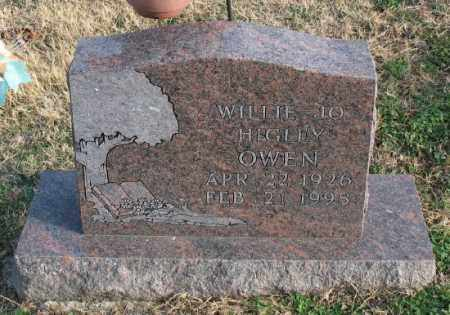 OWEN, WILLIE JO - Marion County, Arkansas | WILLIE JO OWEN - Arkansas Gravestone Photos