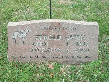 OWEN, ZEROLD - Marion County, Arkansas | ZEROLD OWEN - Arkansas Gravestone Photos