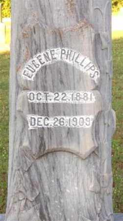 PHILLIPS, EUGENE (CLOSE UP) - Marion County, Arkansas | EUGENE (CLOSE UP) PHILLIPS - Arkansas Gravestone Photos