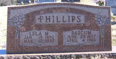 PHILLIPS, BASCUN - Marion County, Arkansas | BASCUN PHILLIPS - Arkansas Gravestone Photos