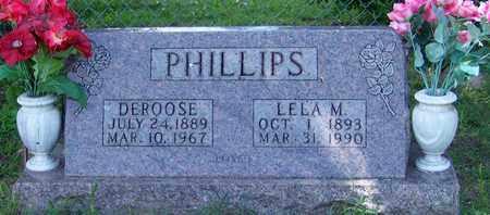 PHILLIPS, DEROOSE - Marion County, Arkansas | DEROOSE PHILLIPS - Arkansas Gravestone Photos
