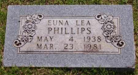 PHILLIPS, EUNA LEA - Marion County, Arkansas   EUNA LEA PHILLIPS - Arkansas Gravestone Photos