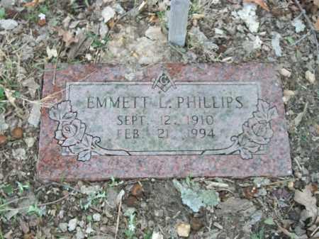 PHILLIPS, EMMETT L. - Marion County, Arkansas   EMMETT L. PHILLIPS - Arkansas Gravestone Photos
