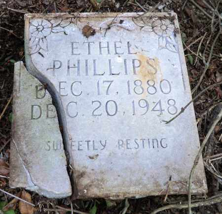 PHILLIPS, ETHEL - Marion County, Arkansas   ETHEL PHILLIPS - Arkansas Gravestone Photos