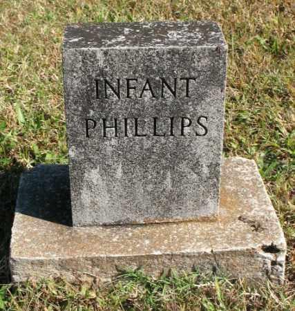 PHILLIPS, INFANT - Marion County, Arkansas   INFANT PHILLIPS - Arkansas Gravestone Photos