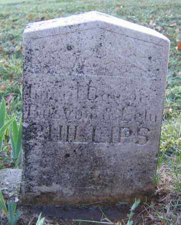PHILLIPS, INFANT - Marion County, Arkansas | INFANT PHILLIPS - Arkansas Gravestone Photos