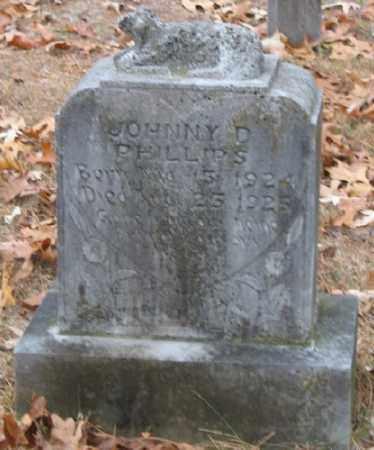 PHILLIPS, JOHNNY D. - Marion County, Arkansas   JOHNNY D. PHILLIPS - Arkansas Gravestone Photos