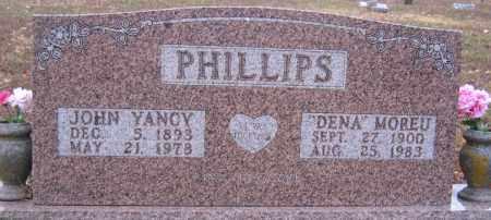 PHILLIPS, JOHN YANCY - Marion County, Arkansas   JOHN YANCY PHILLIPS - Arkansas Gravestone Photos