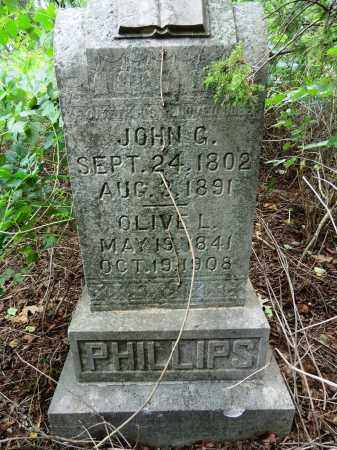 PHILLIPS, OLIVE L. - Marion County, Arkansas   OLIVE L. PHILLIPS - Arkansas Gravestone Photos