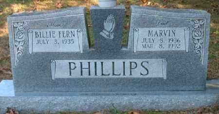 PHILLIPS, MARVIN - Marion County, Arkansas   MARVIN PHILLIPS - Arkansas Gravestone Photos
