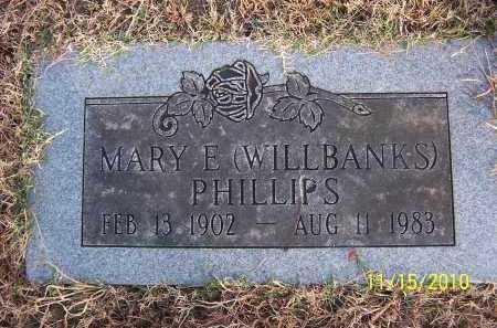 PHILLIPS, MARY E. - Marion County, Arkansas | MARY E. PHILLIPS - Arkansas Gravestone Photos