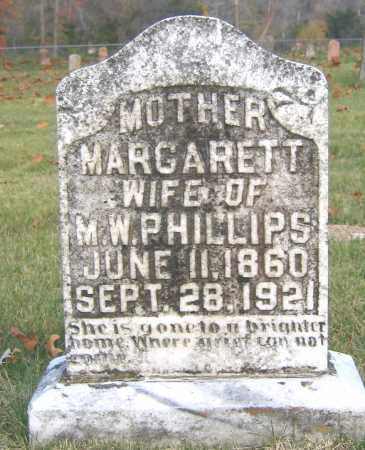 PHILLIPS, MARGARETT - Marion County, Arkansas | MARGARETT PHILLIPS - Arkansas Gravestone Photos