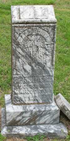 PIERCE, R. J. - Marion County, Arkansas | R. J. PIERCE - Arkansas Gravestone Photos