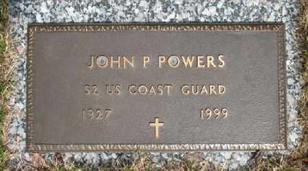 POWERS (VETERAN WWII), JOHN P - Marion County, Arkansas   JOHN P POWERS (VETERAN WWII) - Arkansas Gravestone Photos