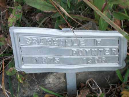 POYNTER, GRANVILLE F. - Marion County, Arkansas | GRANVILLE F. POYNTER - Arkansas Gravestone Photos
