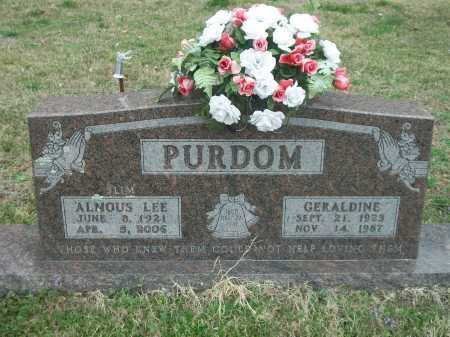 "PURDOM, ALMOUS LEE ""SLIM"" - Marion County, Arkansas 