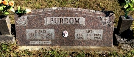 PURDOM, DORIS - Marion County, Arkansas | DORIS PURDOM - Arkansas Gravestone Photos