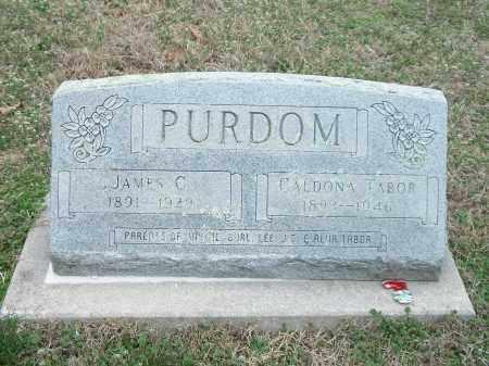PURDOM, CALDONA - Marion County, Arkansas | CALDONA PURDOM - Arkansas Gravestone Photos