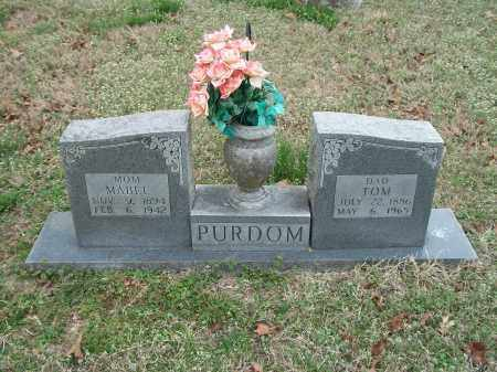 PURDOM, MABEL - Marion County, Arkansas | MABEL PURDOM - Arkansas Gravestone Photos