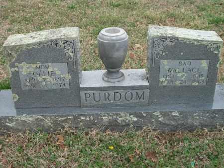 PURDOM, OLLIE - Marion County, Arkansas | OLLIE PURDOM - Arkansas Gravestone Photos