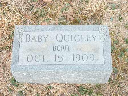 QUIGLEY, BABY - Marion County, Arkansas | BABY QUIGLEY - Arkansas Gravestone Photos