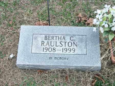 RAULSTON, BERTHA C. - Marion County, Arkansas | BERTHA C. RAULSTON - Arkansas Gravestone Photos