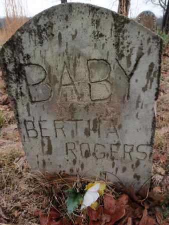 ROGERS, BERTHA - Marion County, Arkansas | BERTHA ROGERS - Arkansas Gravestone Photos