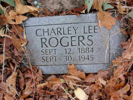 ROGERS, CHARLEY LEE - Marion County, Arkansas | CHARLEY LEE ROGERS - Arkansas Gravestone Photos