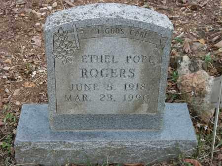 ROGERS, ETHEL - Marion County, Arkansas | ETHEL ROGERS - Arkansas Gravestone Photos