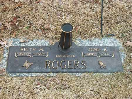 ROGERS, JOHN E. - Marion County, Arkansas | JOHN E. ROGERS - Arkansas Gravestone Photos