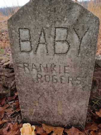 ROGERS, FRANKIE - Marion County, Arkansas | FRANKIE ROGERS - Arkansas Gravestone Photos