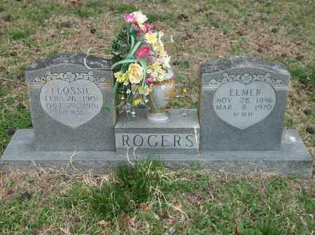KELLEY ROGERS, FLOSSIE - Marion County, Arkansas | FLOSSIE KELLEY ROGERS - Arkansas Gravestone Photos