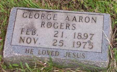ROGERS, GEORGE AARON - Marion County, Arkansas | GEORGE AARON ROGERS - Arkansas Gravestone Photos