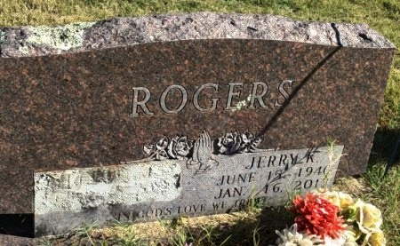 ROGERS, JERRY K. - Marion County, Arkansas | JERRY K. ROGERS - Arkansas Gravestone Photos