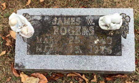 ROGERS, JAMES W. - Marion County, Arkansas   JAMES W. ROGERS - Arkansas Gravestone Photos