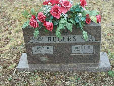 ROGERS, NETTIE F. - Marion County, Arkansas | NETTIE F. ROGERS - Arkansas Gravestone Photos