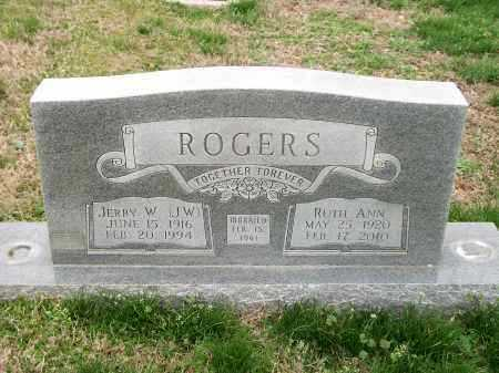 ROGERS, RUTH ANN - Marion County, Arkansas | RUTH ANN ROGERS - Arkansas Gravestone Photos