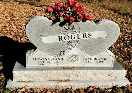 ROGERS, LIDWINA JEANIE - Marion County, Arkansas   LIDWINA JEANIE ROGERS - Arkansas Gravestone Photos