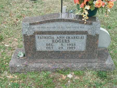 MARKLE ROGERS, PATRICIA ANN - Marion County, Arkansas | PATRICIA ANN MARKLE ROGERS - Arkansas Gravestone Photos