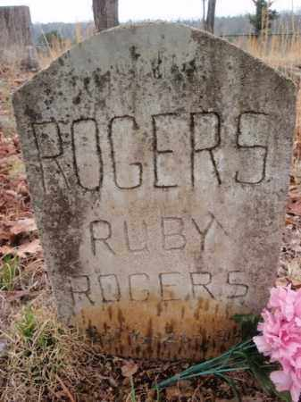 ROGERS, RUBY - Marion County, Arkansas | RUBY ROGERS - Arkansas Gravestone Photos
