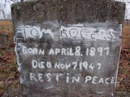 ROGERS, TOM - Marion County, Arkansas | TOM ROGERS - Arkansas Gravestone Photos