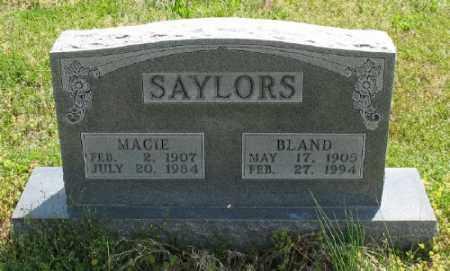 SAYLORS, MARCIE - Marion County, Arkansas | MARCIE SAYLORS - Arkansas Gravestone Photos