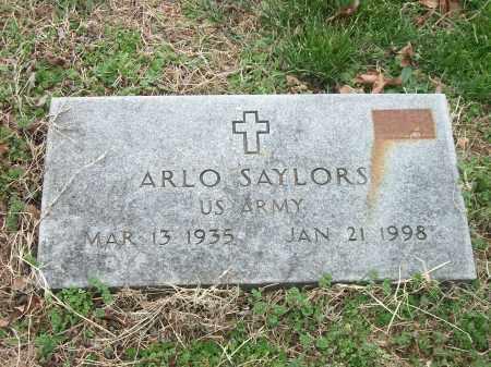 SAYLORS (VETERAN KOR), ARLO - Marion County, Arkansas | ARLO SAYLORS (VETERAN KOR) - Arkansas Gravestone Photos