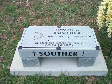 SOUTHER, TIMOTHY E. - Marion County, Arkansas   TIMOTHY E. SOUTHER - Arkansas Gravestone Photos
