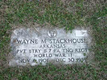 STACKHOUSE (VETERAN WWII), WAYNE M - Marion County, Arkansas | WAYNE M STACKHOUSE (VETERAN WWII) - Arkansas Gravestone Photos