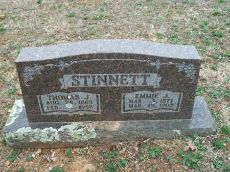 STINNETT, EMMIE J. - Marion County, Arkansas | EMMIE J. STINNETT - Arkansas Gravestone Photos