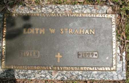 STRAHAN, EDITH W. - Marion County, Arkansas | EDITH W. STRAHAN - Arkansas Gravestone Photos