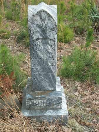 THOMAS, WILLIAM - Marion County, Arkansas | WILLIAM THOMAS - Arkansas Gravestone Photos